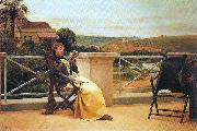 Almeida Junior Perusal oil painting reproduction