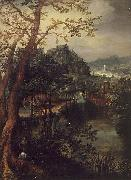 David Vinckboons Landscape oil painting reproduction