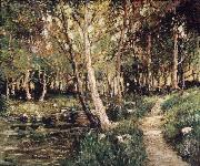 Ernest Lawson Landscape oil painting reproduction