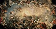 Francisco Bayeu Fall of the Giants oil painting