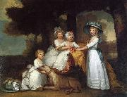Gilbert Stuart The Children of the Second Duke of Northumberland by Gilbert Stuart oil painting reproduction