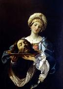 Guido Reni Salome with the Head of John the Baptist oil painting reproduction