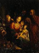 Hans von Aachen The Holy Family oil painting reproduction