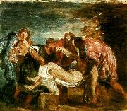 copy of tition's entombment