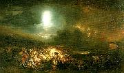 J.M.W.Turner the field of waterloo oil painting on canvas