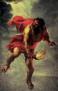 Jan Cossiers Prometheus Carrying Fire oil painting