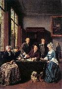 Jan Josef Horemans the Elder Marriage Contract oil painting