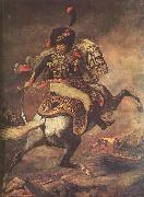 Charging Chasseur by Theodore Gericault