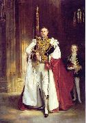 carrying the Sword of State at the coronation of Edward VII of the United Kingdom