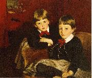 Sargent John Singer Portrait of Two Children aka The Forbes Brothers