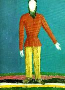 Kazimir Malevich peasant oil painting reproduction