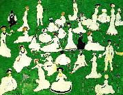 Kazimir Malevich relaxing oil painting reproduction