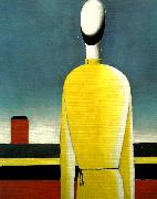 Kazimir Malevich complex presentiment oil painting reproduction