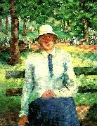 Kazimir Malevich unemployed girl oil painting reproduction