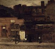 Louis Comfort Tiffany Duane Street, New York oil painting