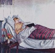 Michael Ancher The Sick Girl oil painting reproduction