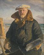 Michael Ancher Self portrait oil painting reproduction