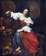 Nicolas Regnier Allegory of Vanity oil painting reproduction