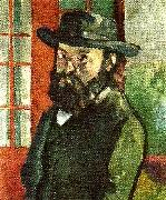 Paul Cezanne sjalvportratt oil painting reproduction