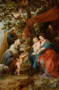 Holy Family under the Apple Tree