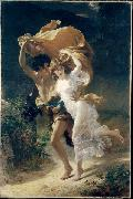 Pierre Auguste Cot The Storm oil painting reproduction