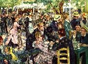 Pierre-Auguste Renoir bal pa moulin de la galette oil painting reproduction