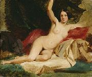 Female Nude in a Landscape by William Etty.