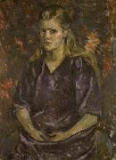 Painting of Anna Mahler