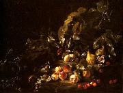 Abraham Brueghel Still life with fruit oil painting