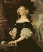 Abraham van den Tempel Portrait of a Woman oil painting reproduction