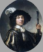 Aelbert Cuyp Portrait of a young man oil painting