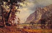 Albert Bierdstadt Yosemite Valley oil painting
