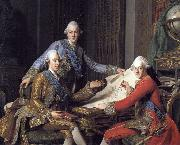 Gustav III of Sweden, and his brothers