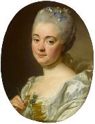 Portrait of the artist Marie Therese Reboul wife of Joseph-Marie Vien