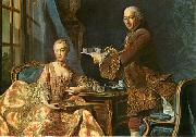 Double portrait, Architect Jean-Rodolphe Perronet with his Wife