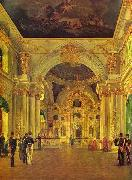 Alexey Tyranov Alexey Tyranov. View of the Big Church of the Winter Palace oil painting