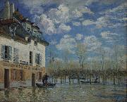 Painting of Alfred Sisley in the Orsay Museum