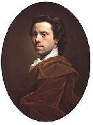 Allan Ramsay Self portrait oil painting reproduction