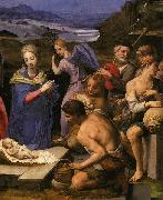 Angelo Bronzino The Adoration of the Shepherds oil painting reproduction