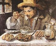 Annibale Carracci The Beaneater oil painting reproduction
