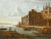 Fancy portraial of the Scuola Grande di San Marco