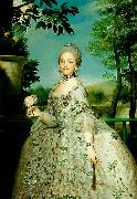 the later Queen Maria Luisa of Spain