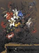 Bartolome Perez Vase of Flowers oil painting