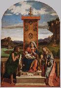 The Madonna and Child with Sts John the Baptist and Mary Magdalen