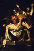 Caravaggio The Deposition of Christ oil painting reproduction