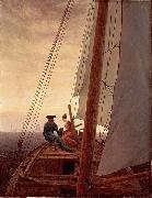 On a Sailing Ship