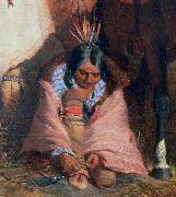 A Group of Sioux, detail