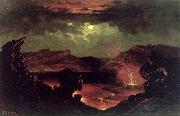 Charles Furneaux Kilauea oil painting reproduction