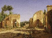 Gateway in the Via Sepulcralis in Pompeii.