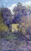 Clara Southern Landscape with Cottage oil painting